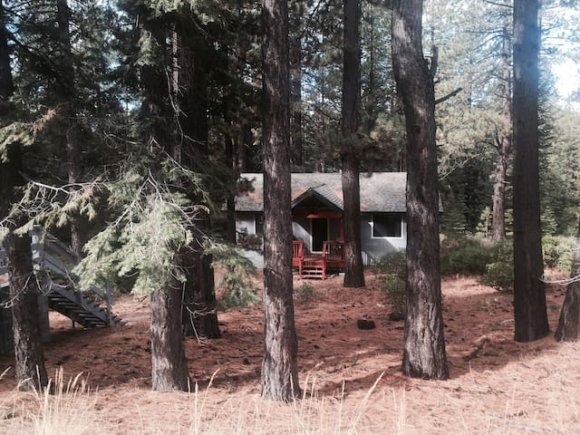 Cozy, secluded home near ski resort - South Lake Tahoe - Dom