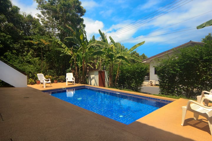 Duplex 2BR + Pool - Walk to Beach - Ko Samui - Apartment