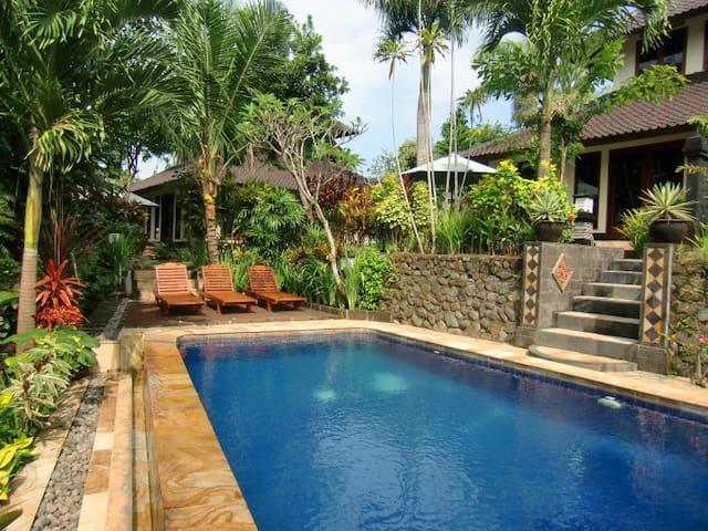 Villa Tenang - pool and gardens - - Selemadeg - 別荘