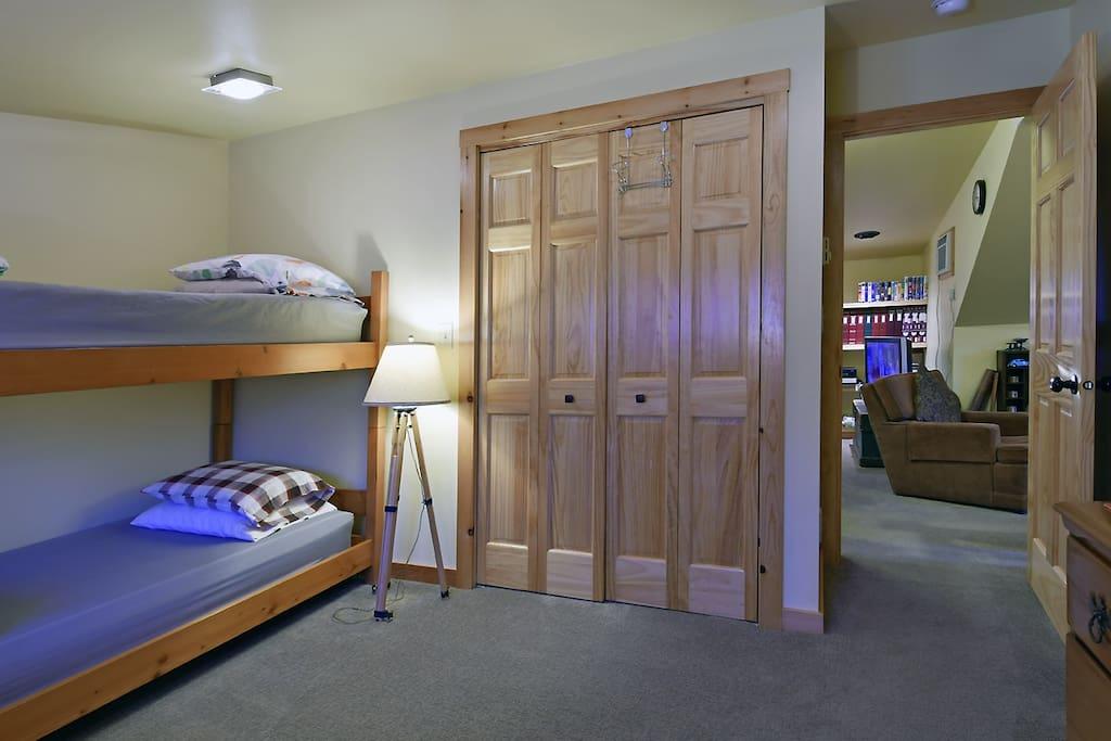 Comfy bunks