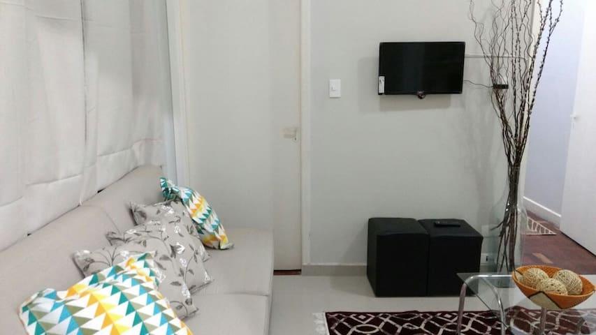 Apto JARDINS / Conforto e Segurança SAFETY (3-A) - São Paulo - Apartemen