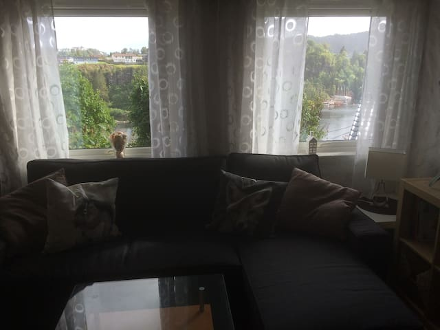 Nice apartment with seaview, central location - Bergen - Flat