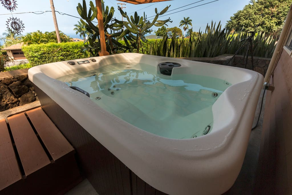 brand new hot tub