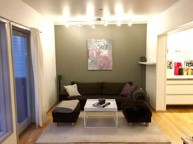 Stille 2roms leilighet, rett i nærheten av sentrum - Tromsø - Apartamento