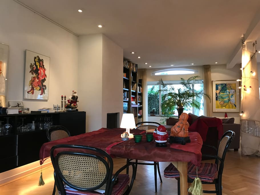 First Floor:  Complete Living room