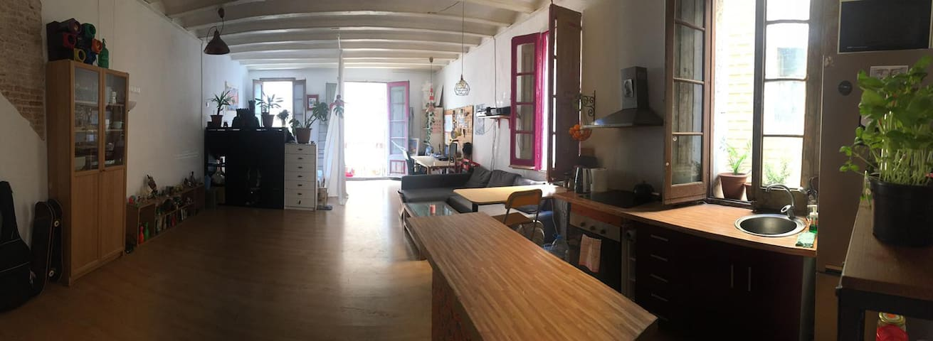 LOFT / ESTUDIO PRIVADO AMPLIO Y LUMINOSO BARCELONA