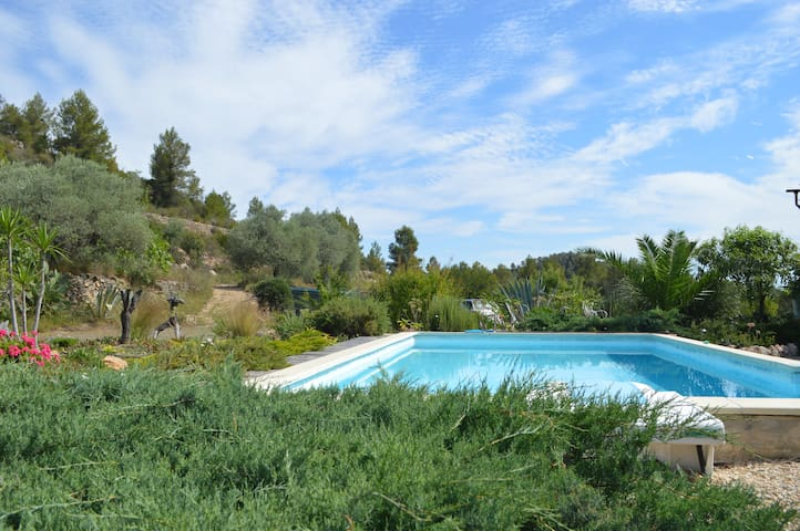 Casita Hons 1 bedroom apartment with pool Rasquera - Rasquera - Huoneisto