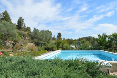 Casita Hons 1 bedroom apartment with pool Rasquera - Rasquera - Byt