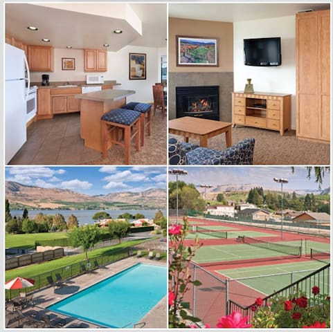 2 Bed Wyndham Chelan Shores, WA
