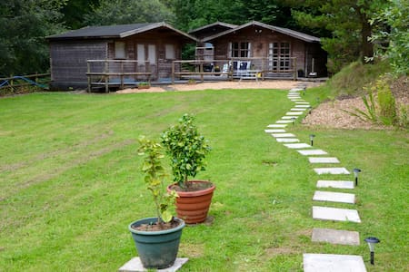 Dog friendly cabins Carmarthen, St Clears - Carmarthenshire - Ξυλόσπιτο