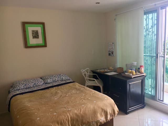 Confortable bedroom located in Cholula