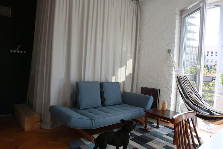 Możliwość wydzielenia salonu od sypialni / Dividing living room from sleeping room