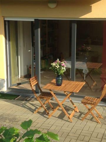 Minimalism in 'calmness' near Mondorf-les-Bains