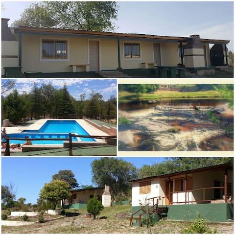 CABAÑAS PARA HASTA 6 PERSONAS - Villa Icho Cruz  - Blockhütte