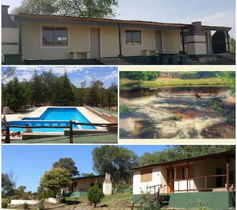 CABAÑAS PARA HASTA 6 PERSONAS - Villa Icho Cruz  - Zomerhuis/Cottage
