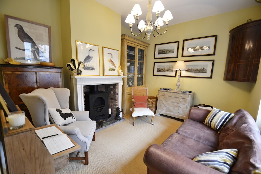 Guest have exclusive use of this sitting room