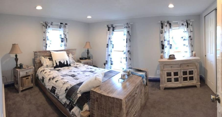 Charming New York Bedroom in dreamy Sackets Harbor