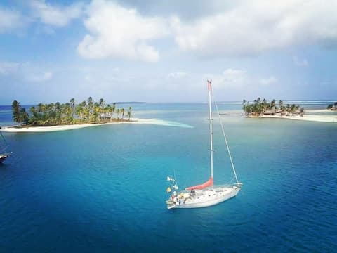 San Blas, sailboat adventure from 99€ passanger.