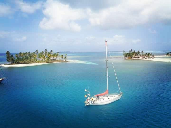 San Blas rent sailing boat  from 99€ passanger.