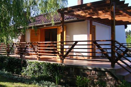 Summer Residence Lake Balaton Badacsony Làbdihegy - Badacsonytördemic - Casa