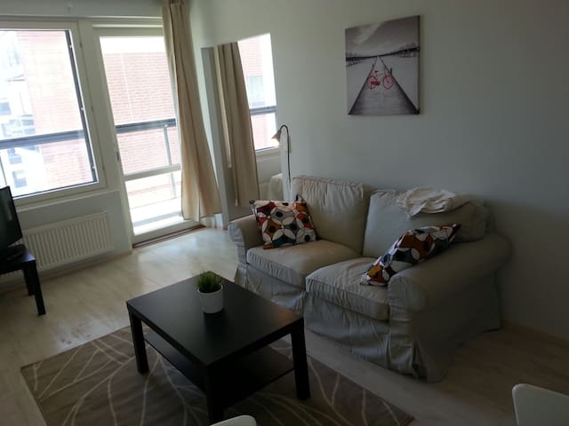 A cozy one-bedroom apartment in good condition in Kerava. (ID 5447)