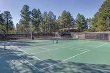 Country Club tennis courts- steps away from townhouse and open for guest use with card