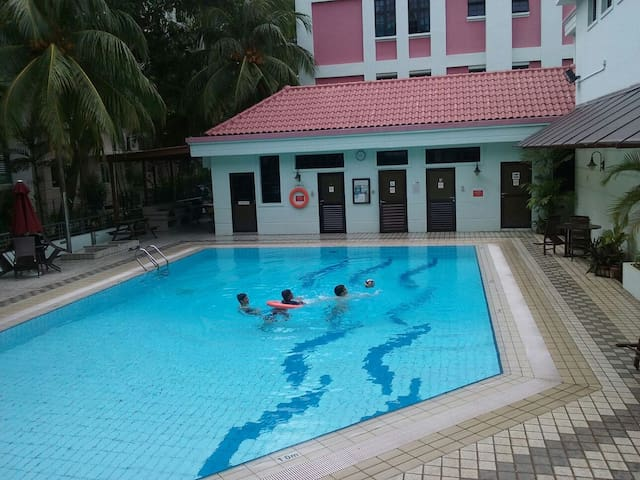 Condo in  Serangoon MRT/ NEX shopping mall, pool