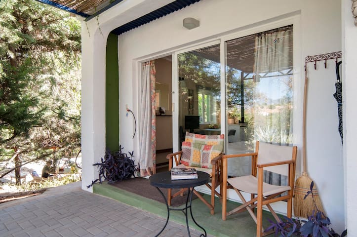 'La Casita'  studio in lovely gardens with patio