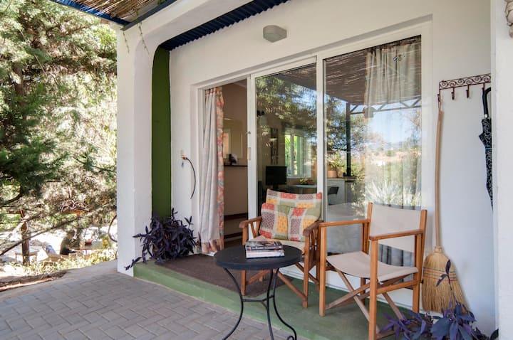 'La Casita'  studio in lovely gardens with patio