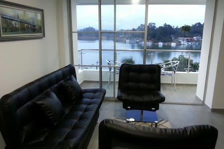 El Apartamento con La Mejor vista de guatapé - Guatapé - Lägenhet