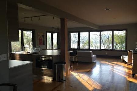 Panoramic Hudson River Views, Catskill NY - Catskill - บ้าน