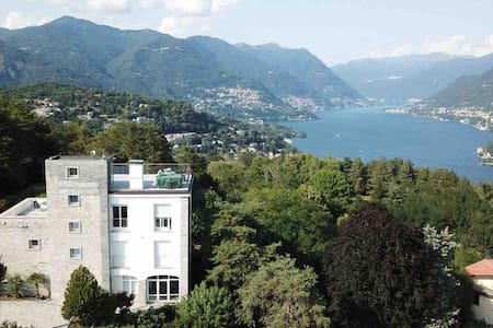 Villa Cardano, Modernes Studio im Naturpark