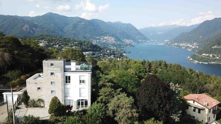 Villa Cardano Como-Studio, Paradies im Naturpark