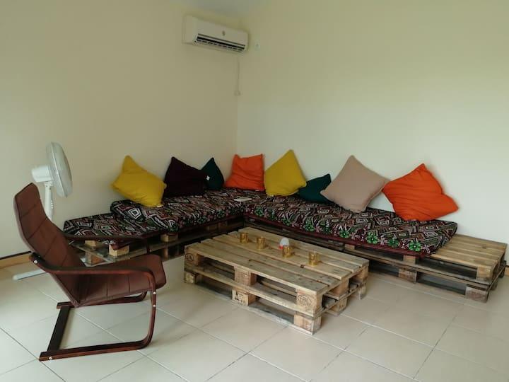 Chambre privée maison Koné