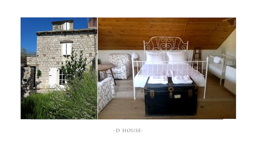 D HOUSE authentic & elegant~center - Zlarin - Huis