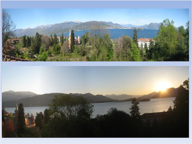 La Panoramica: wonderful view, peace and nature - Baveno - Casa de vacaciones
