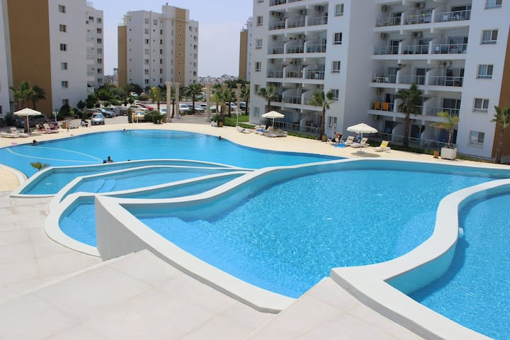 One bed sea view apartment Caesar Resort Iskele