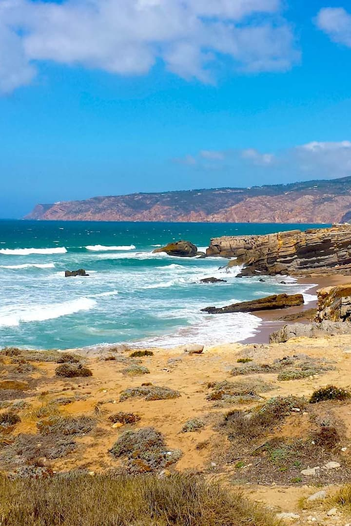 Guincho coast and  Roca Cape