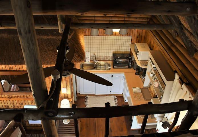 iKhaya LamaDube Game Lodge - Log Cabin