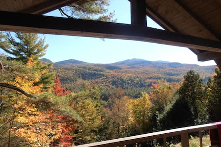 Giant's View Camp: An Adirondack Retreat - Keene Valley - Casa