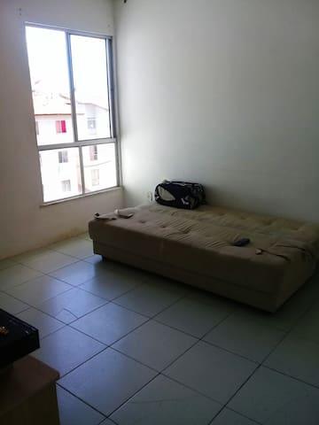 Apartamento no litoral da Bahia.