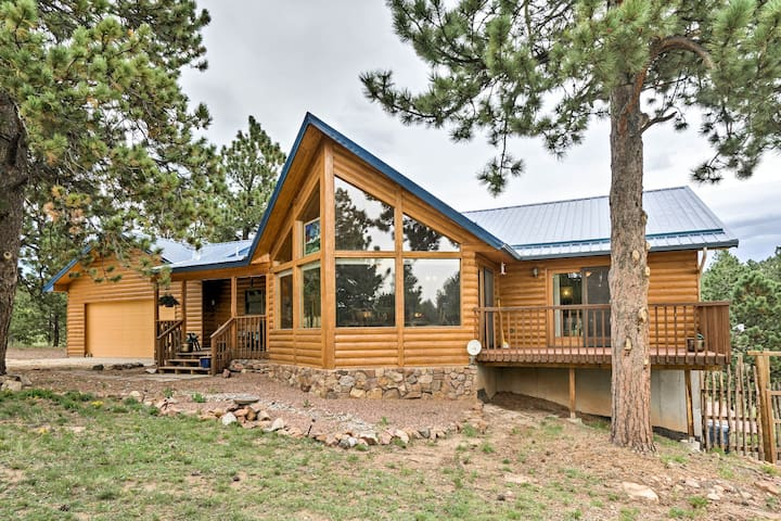 Serene Mtn Home w/Decks: Hike, Bike, & Raft Nearby
