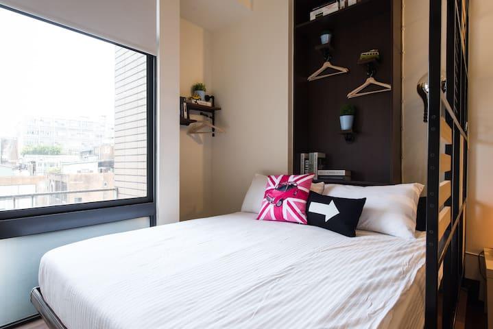 Standard double bed-標準雙人床
