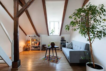 Beautiful Attic Apartment in Letna - Prag