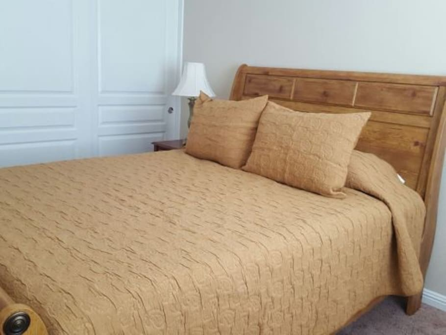 Queen Bed, Dresser not shown