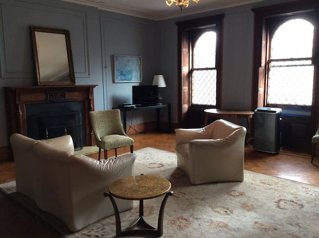 Beautiful restored full floor apt
