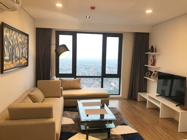 Spacious Two Bedroom Mipec Apartment in Hanoi 2
