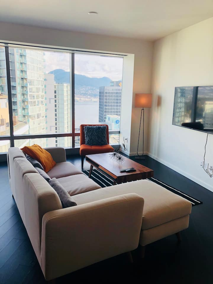 New Luxury  apt- 29th floor in Downtown Vancouver