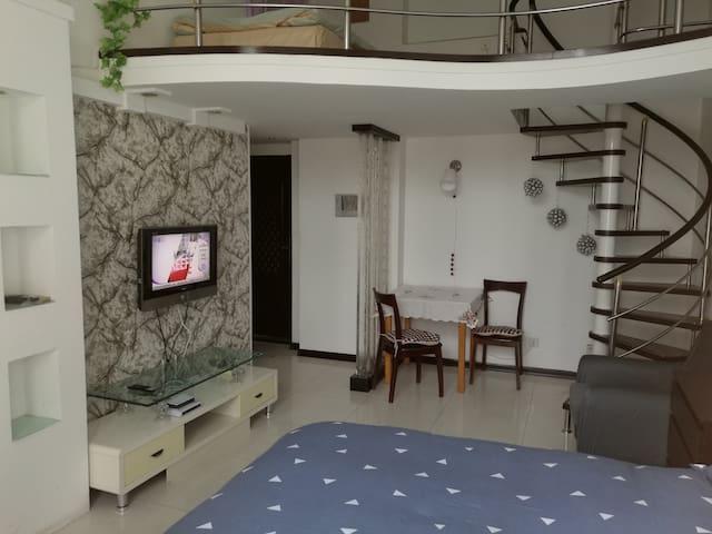 星海广场·壹品星海·听海茗居 - Dalian - Wohnung
