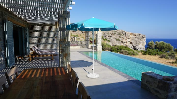 Villa Alati - Seafront Villa with swimming pool